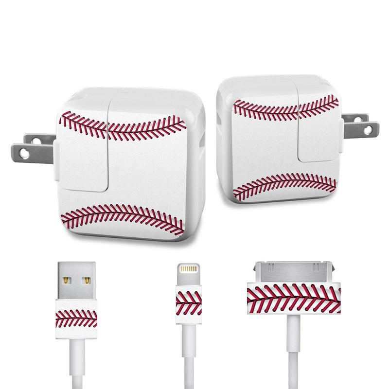 Baseball iPad Power Adapter, Cable Skin