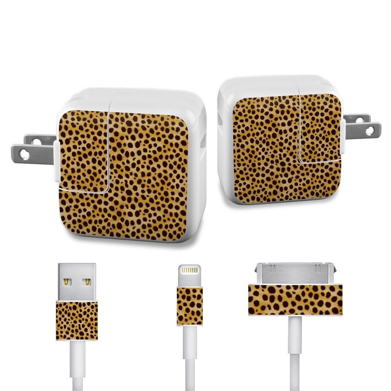 Cheetah iPad Power Adapter, Cable Skin