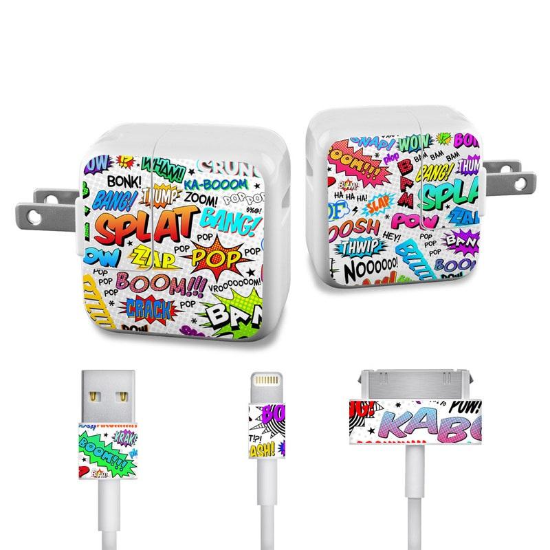 Comics Apple 12W USB Power Adapter Skin