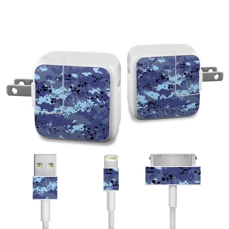Digital Sky Camo iPad Power Adapter, Cable Skin