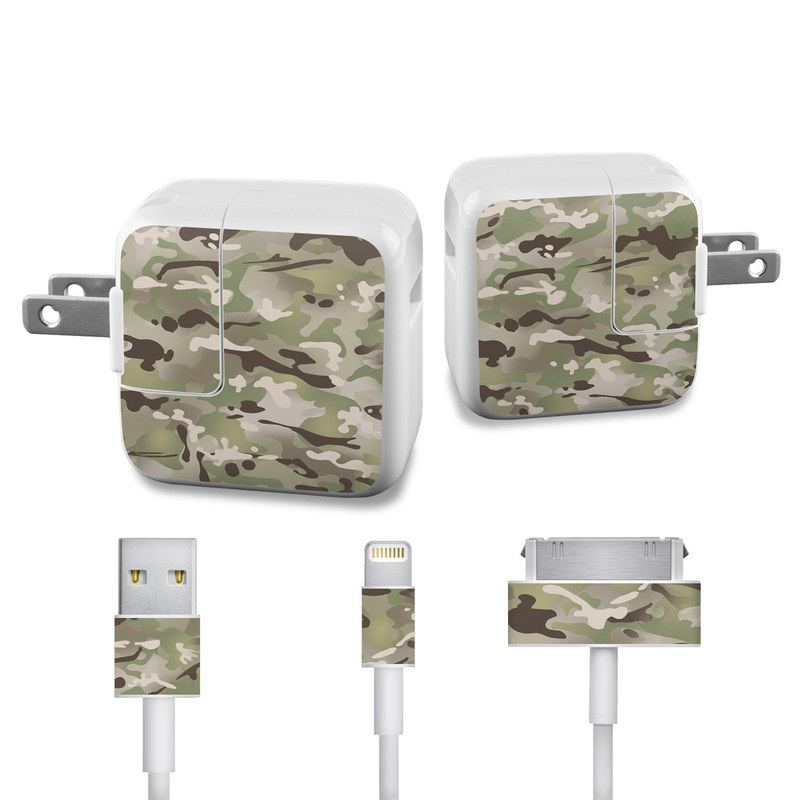 FC Camo iPad Power Adapter, Cable Skin