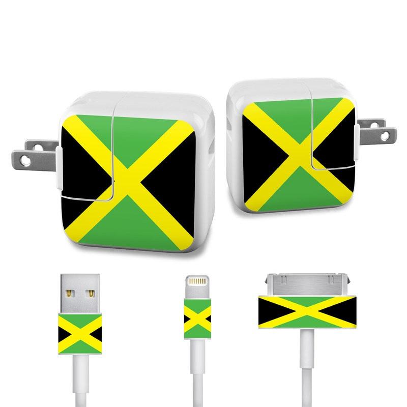 Jamaican Flag Apple 12W USB Power Adapter Skin