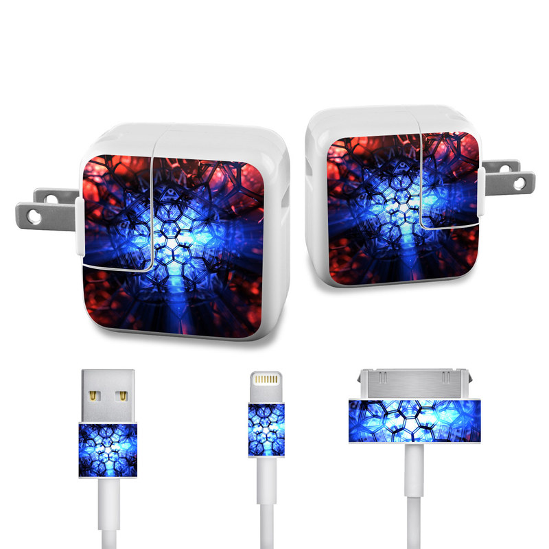 Geomancy iPad Power Adapter, Cable Skin