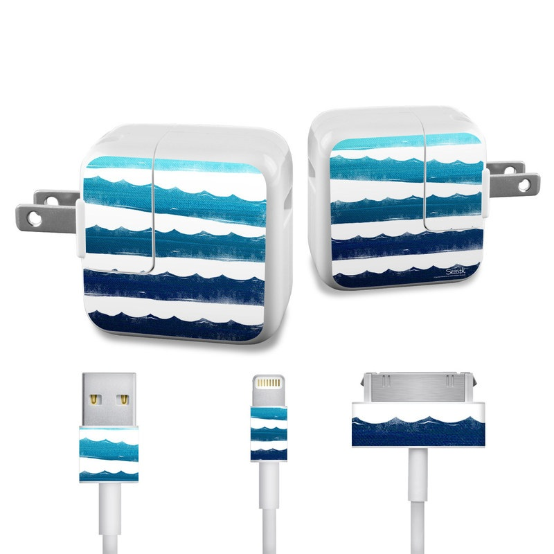 Horizon Lines iPad Power Adapter, Cable Skin