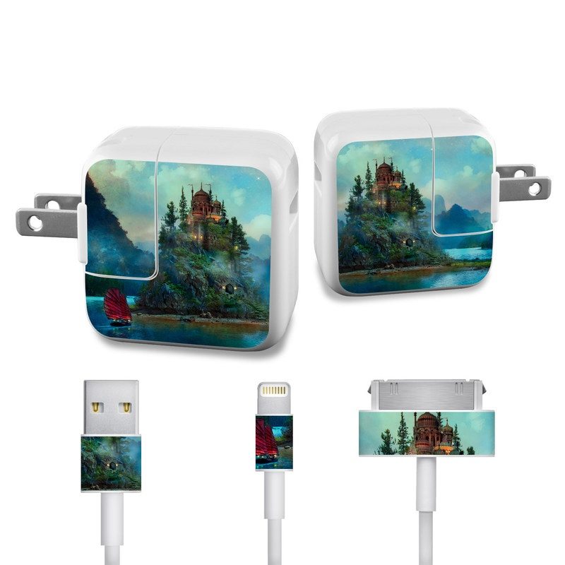Journey's End iPad Power Adapter, Cable Skin