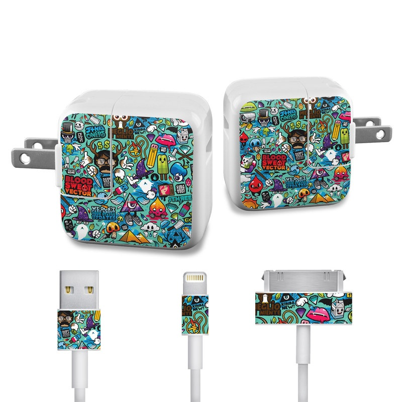 Jewel Thief iPad Power Adapter, Cable Skin