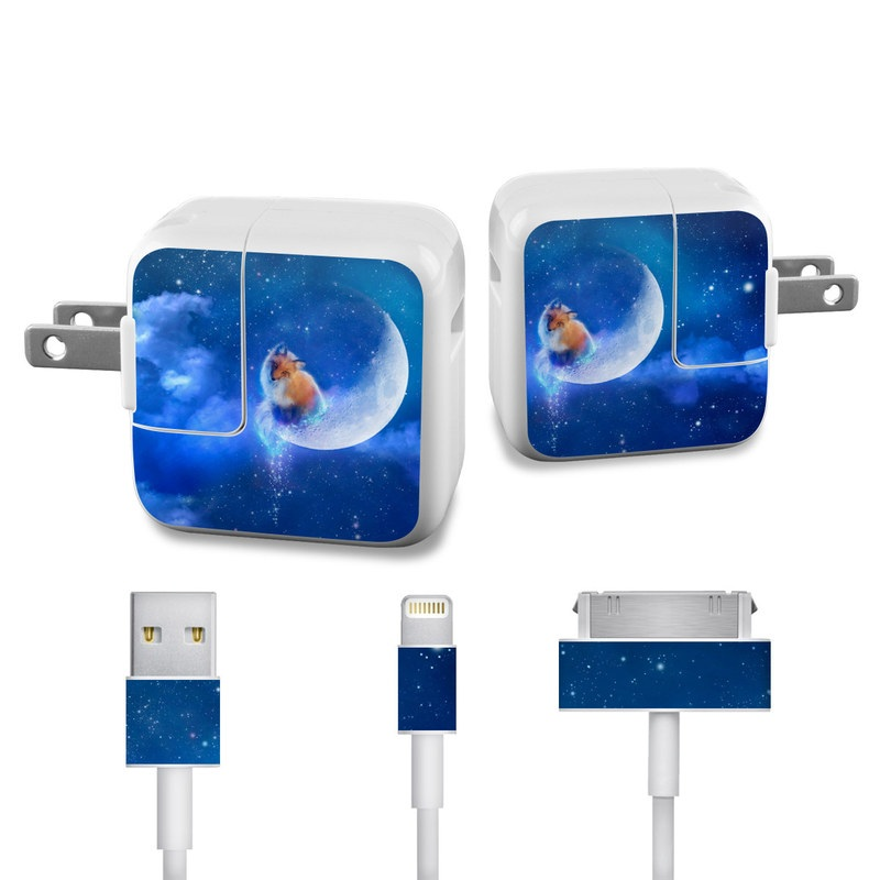 Moon Fox Apple 12W USB Power Adapter Skin