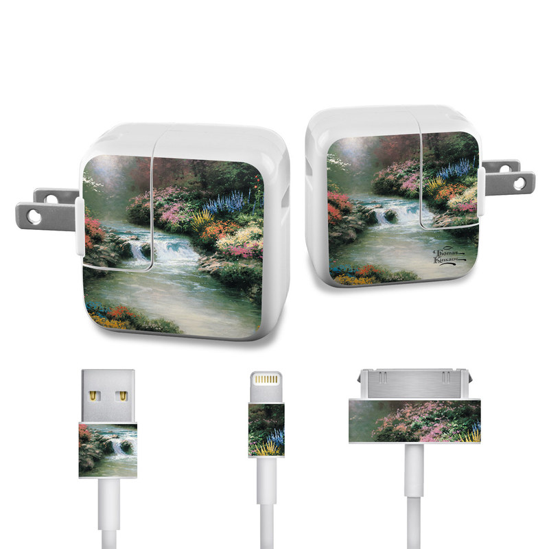 Beside Still Waters iPad Power Adapter, Cable Skin