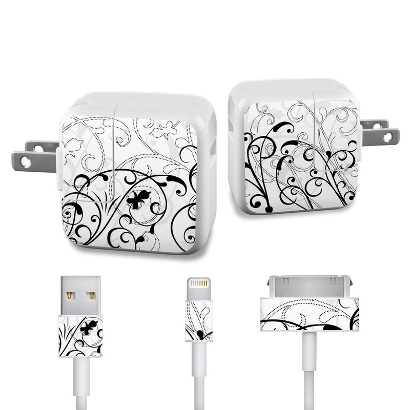 W&B Fleur iPad Power Adapter, Cable Skin