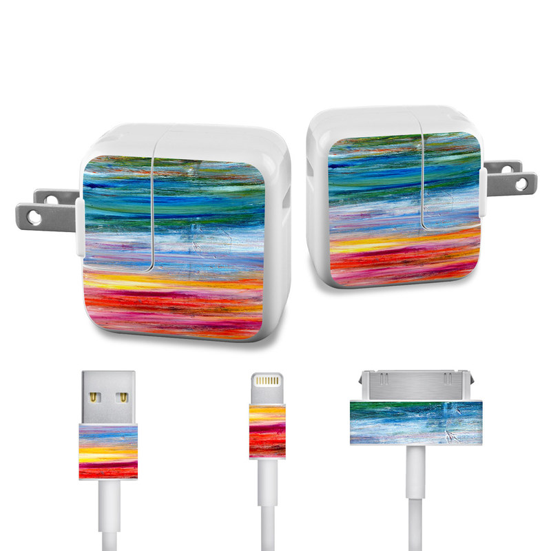 Waterfall iPad Power Adapter, Cable Skin