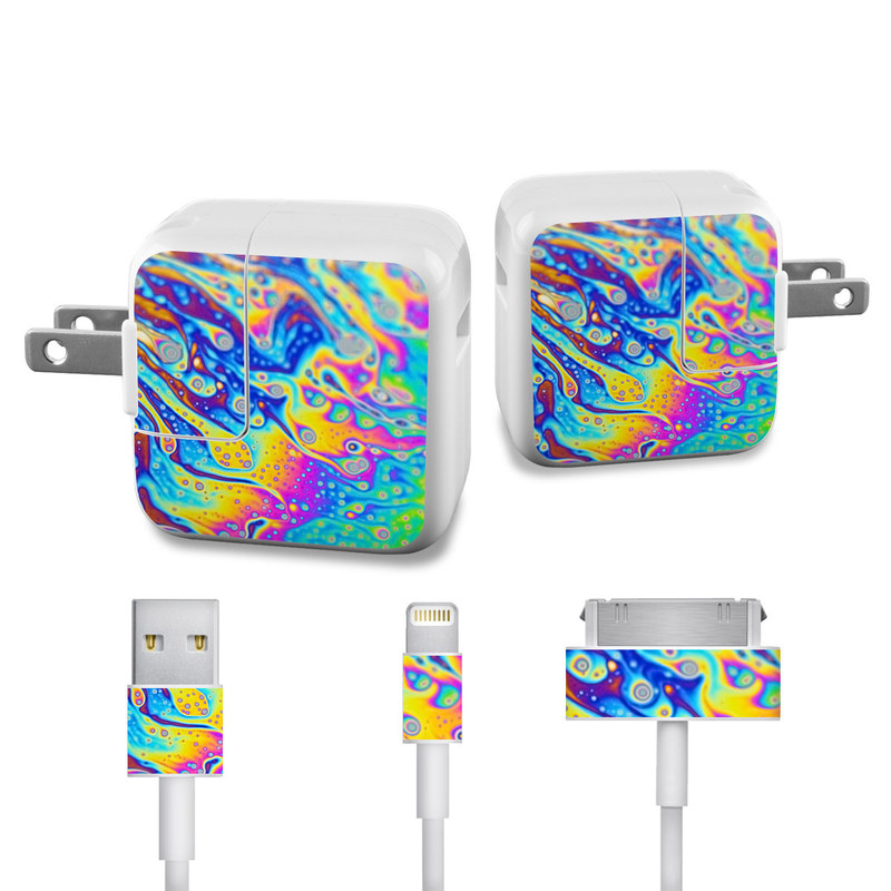 World of Soap iPad Power Adapter, Cable Skin