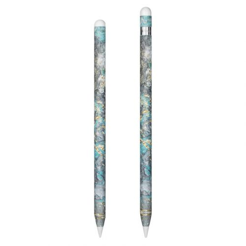 Gilded Glacier Marble Apple Pencil Skin