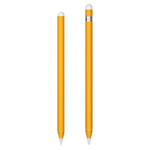 Solid State Orange Apple Pencil Skin