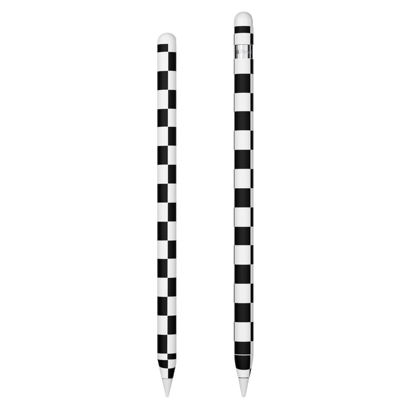 Apple Pencil Skin design of Black, Photograph, Games, Pattern, Indoor games and sports, Black-and-white, Line, Design, Recreation, Square with black, white colors