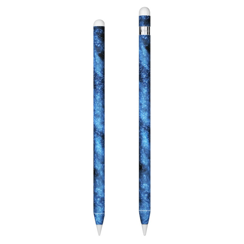 Apple Pencil Skin design of Sky, Atmosphere, Black, Blue, Outer space, Atmospheric phenomenon, Astronomical object, Darkness, Universe, Space with black, blue colors