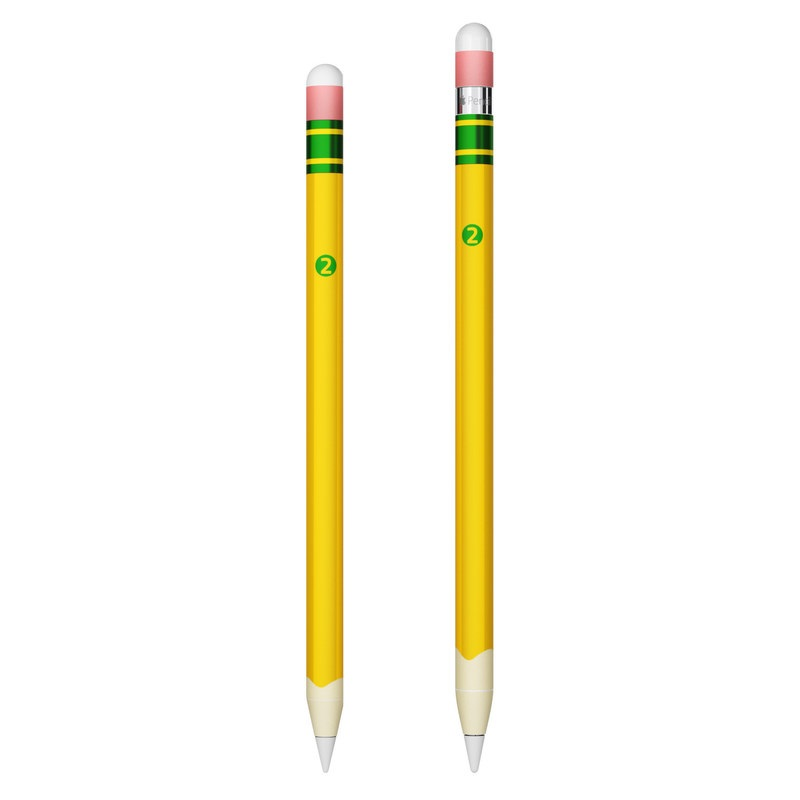 Apple Pencil Skin design with yellow, green, pink colors
