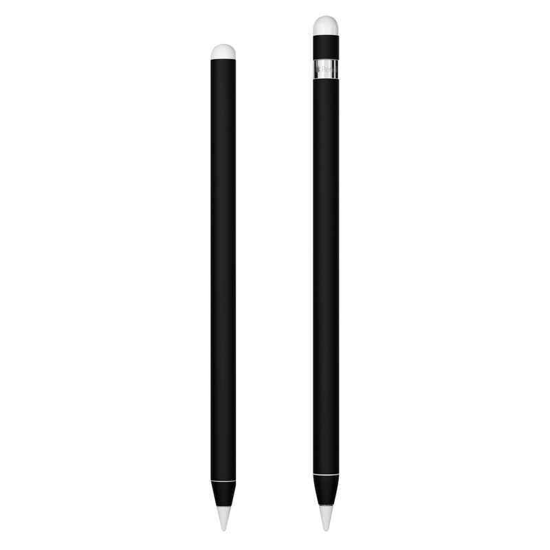 Apple Pencil 2nd Gen Skin design of Black, Darkness, White, Sky, Light, Red, Text, Brown, Font, Atmosphere with black colors