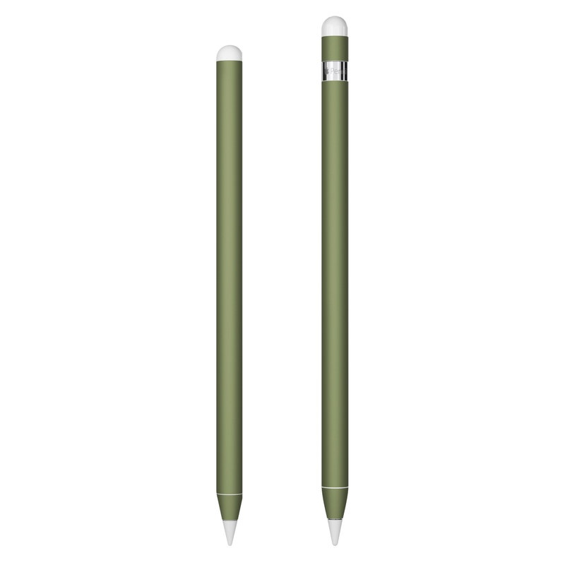 Apple Pencil 2nd Gen Skin design of Green, Brown, Text, Yellow, Grass, Font, Pattern, Beige with green colors