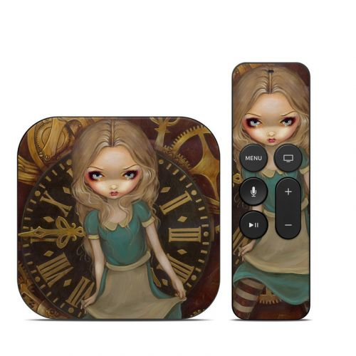 Alice Clockwork Apple TV 4th Gen Skin