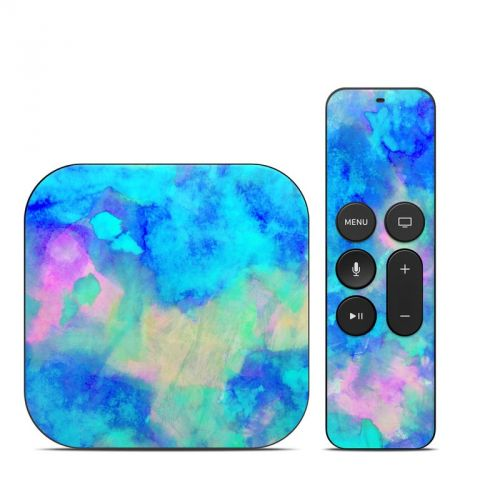 Electrify Ice Blue Apple TV 4th Gen Skin