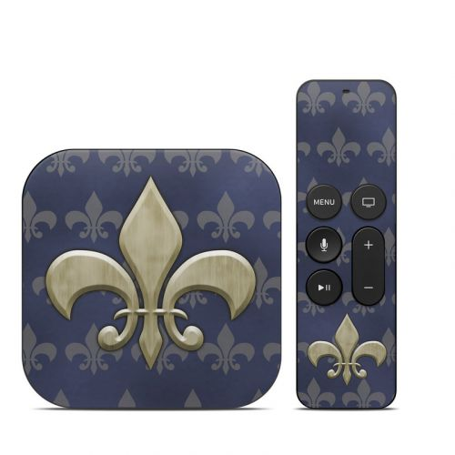 Fleur De Lis Apple TV 4th Gen Skin