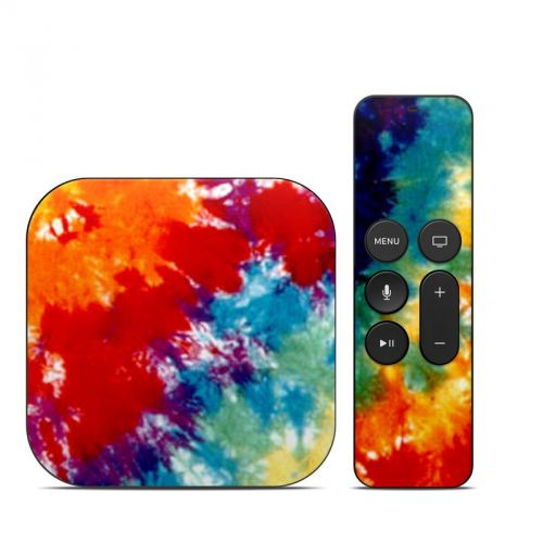 Tie Dyed Apple TV 4th Gen Skin