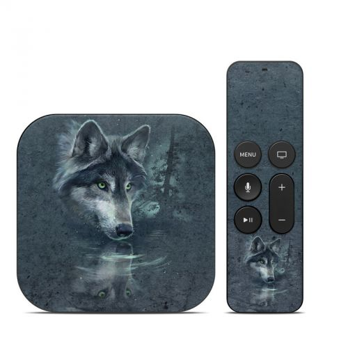 Wolf Reflection Apple TV 4th Gen Skin