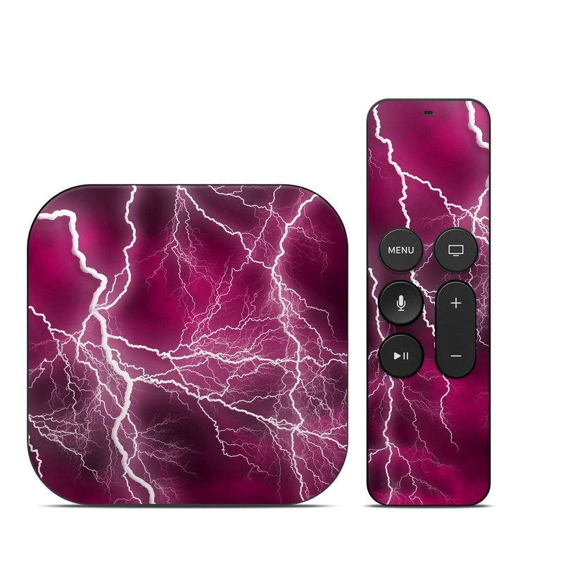 Apocalypse Pink Apple TV 4th Gen Skin