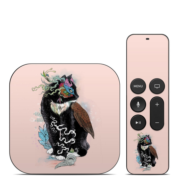 Black Magic Apple TV 4th Gen Skin