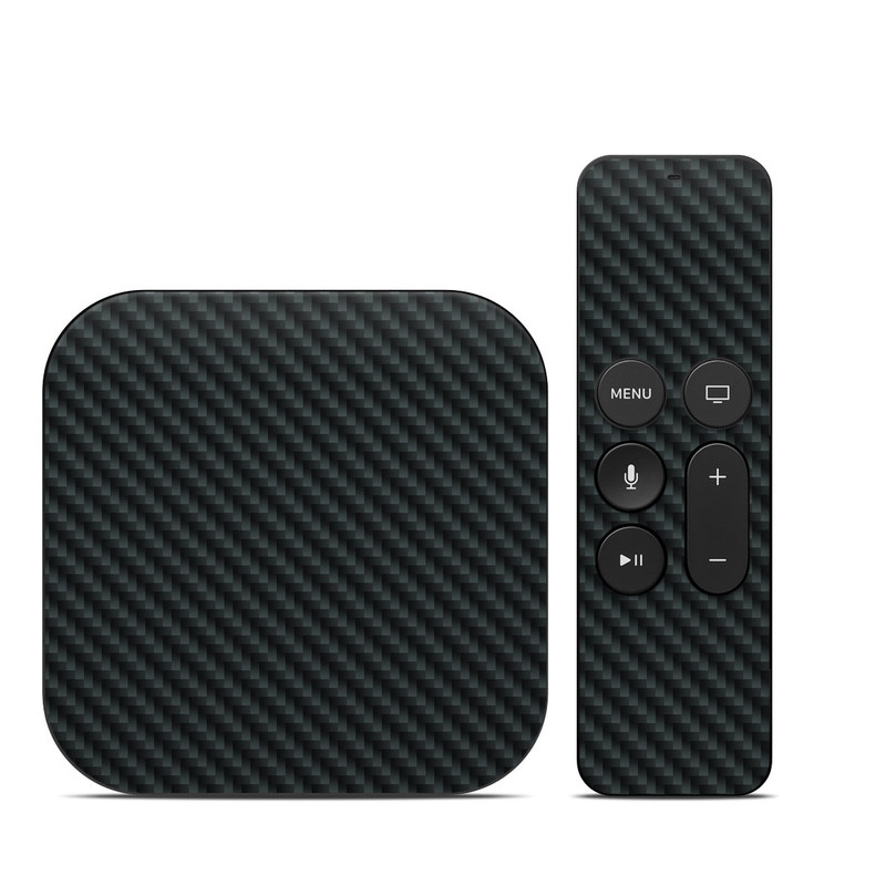 Carbon Apple TV 4th Gen Skin