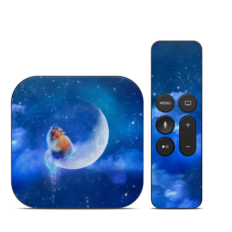 Moon Fox Apple TV 4th Gen Skin