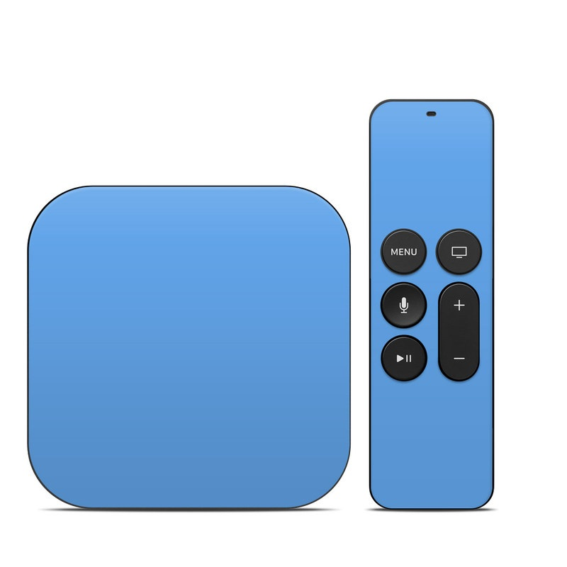 Solid State Blue Apple TV 4th Gen Skin