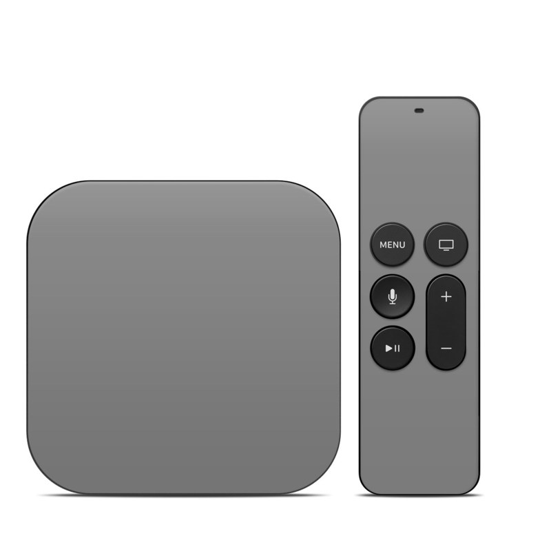 Solid State Grey Apple TV 4th Gen Skin