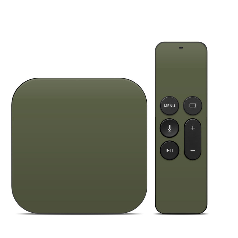 Apple TV 4th, 5th Gen Skin design of Green, Brown, Text, Yellow, Grass, Font, Pattern, Beige with green colors