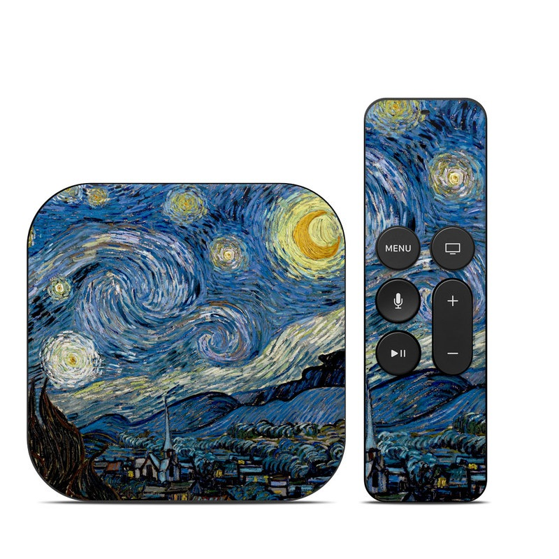 Starry Night Apple TV 4th Gen Skin