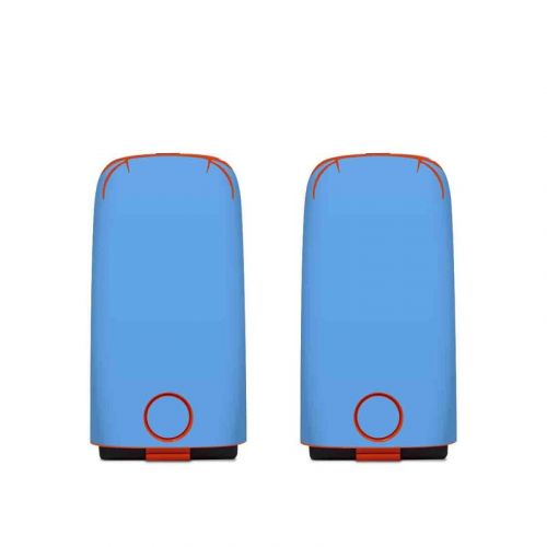 Solid State Blue Autel EVO Battery Skin