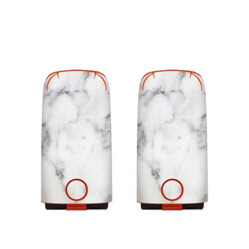 White Marble Autel EVO Battery Skin