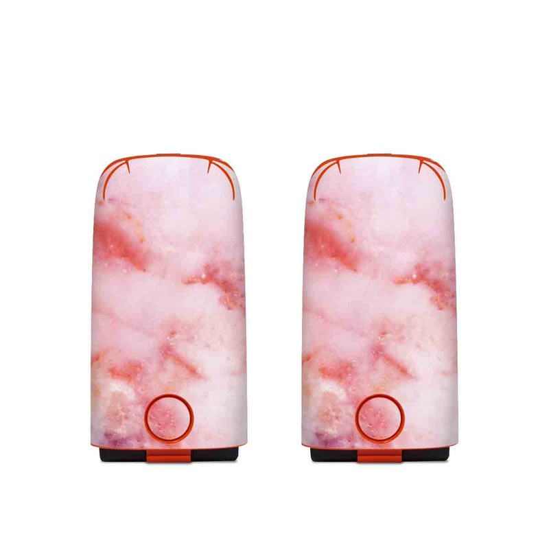 Autel EVO Battery Skin design of Pink, Skin, Flesh, Textile, Fur with pink, red, white, purple, orange colors