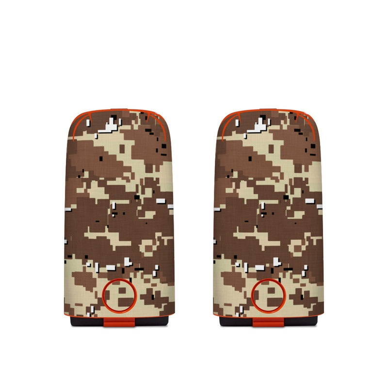 Autel EVO Battery Skin design of Military camouflage, Camouflage, Pattern, Brown, Uniform, Design, Textile, Beige, Metal with black, gray, red, green colors