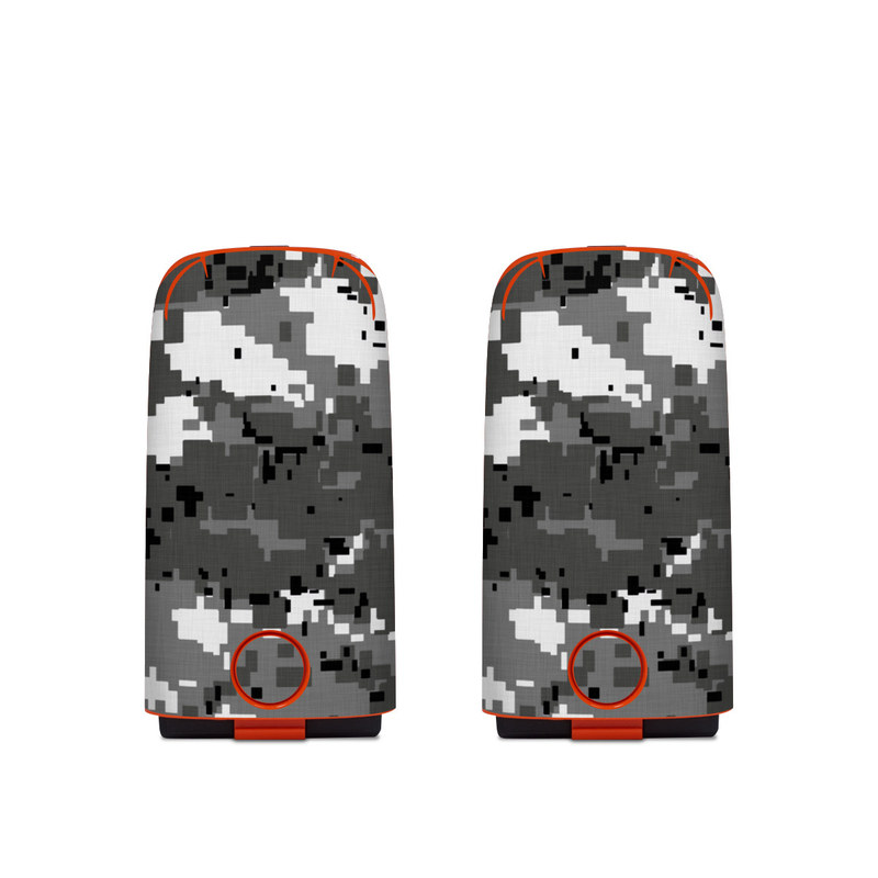Autel EVO Battery Skin design of Military camouflage, Pattern, Camouflage, Design, Uniform, Metal, Black-and-white with black, gray colors