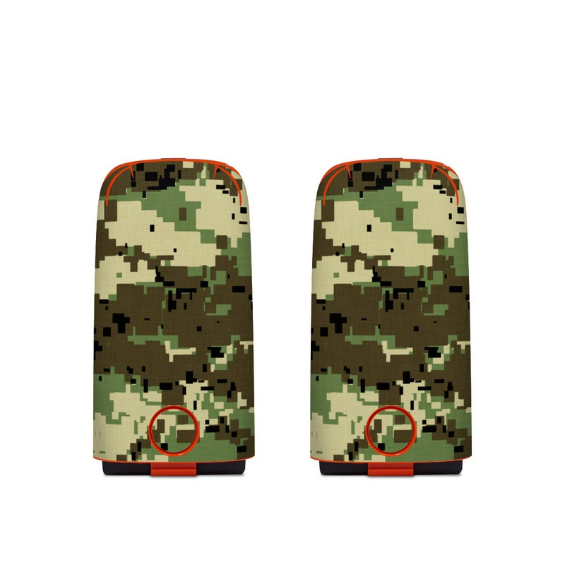Autel EVO Battery Skin design of Military camouflage, Pattern, Camouflage, Green, Uniform, Clothing, Design, Military uniform with black, gray, green colors