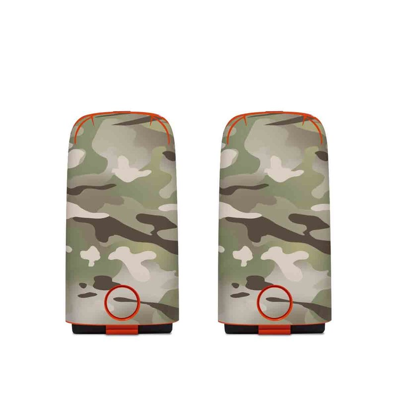 Autel EVO Battery Skin design of Military camouflage, Camouflage, Pattern, Clothing, Uniform, Design, Military uniform, Bed sheet with gray, green, black, red colors