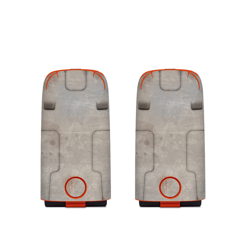 Autel EVO Battery Skin design with red, gray colors