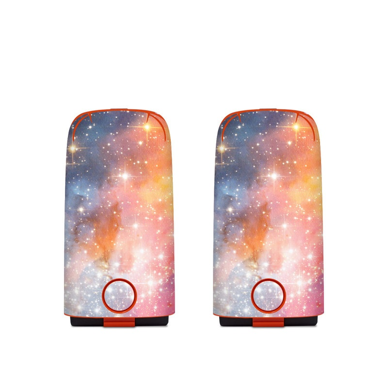 Autel EVO Battery Skin design of Nebula, Sky, Astronomical object, Outer space, Atmosphere, Universe, Space, Galaxy, Celestial event, Star with white, black, red, orange, yellow, blue colors