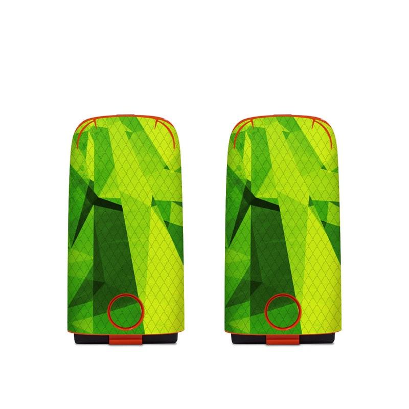 Autel EVO Battery Skin design of Green, Pattern, Leaf, Design, Illustration with green colors