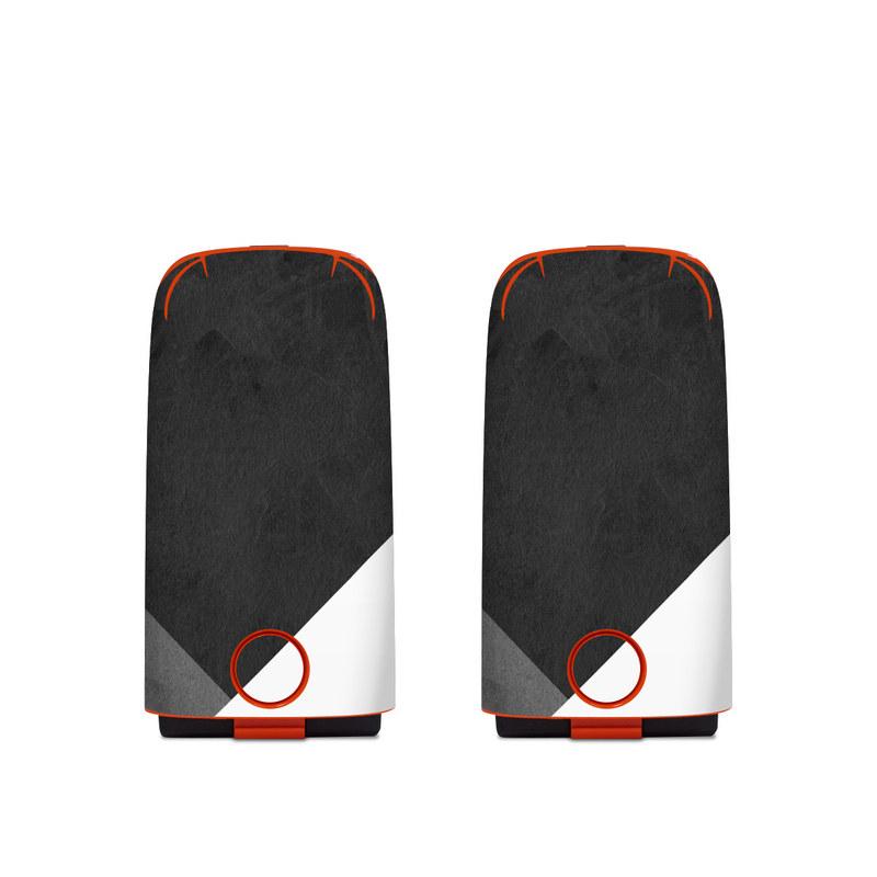 Autel EVO Battery Skin design of Black, White, Black-and-white, Line, Grey, Architecture, Monochrome, Triangle, Monochrome photography, Pattern with white, black, gray colors
