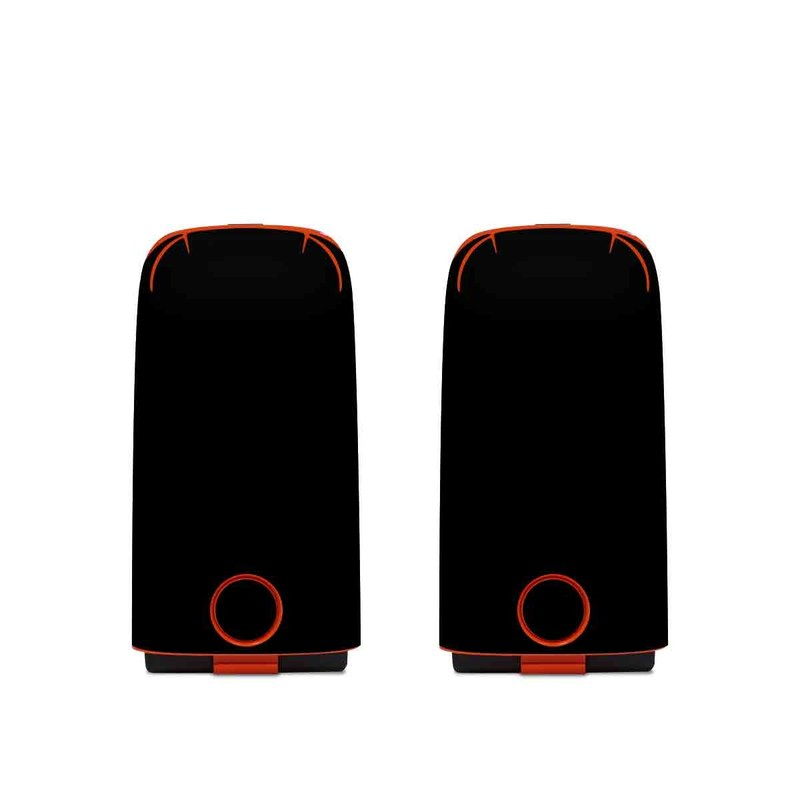 Autel EVO Battery Skin design of Black, Darkness, White, Sky, Light, Red, Text, Brown, Font, Atmosphere with black colors