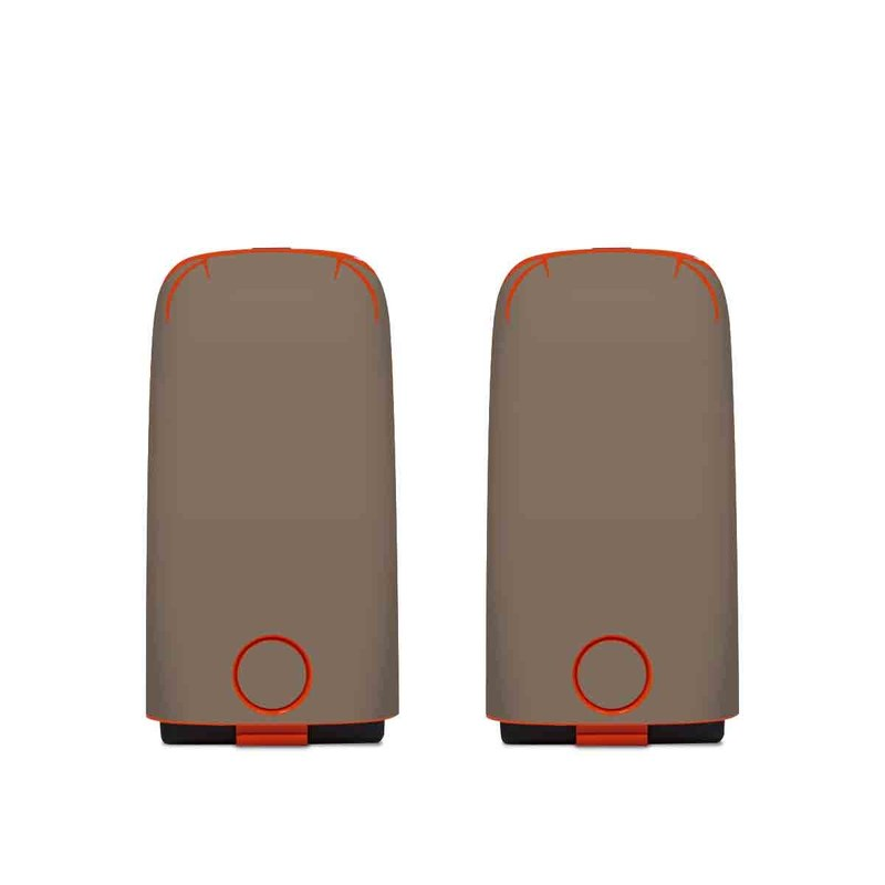 Autel EVO Battery Skin design of Brown, Text, Beige, Material property, Font with brown colors