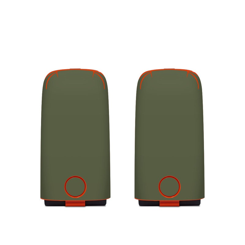 Autel EVO Battery Skin design of Green, Brown, Text, Yellow, Grass, Font, Pattern, Beige with green colors
