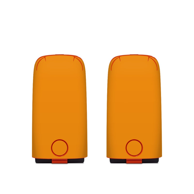Autel EVO Battery Skin design of Orange, Yellow, Brown, Text, Amber, Font, Peach with orange colors